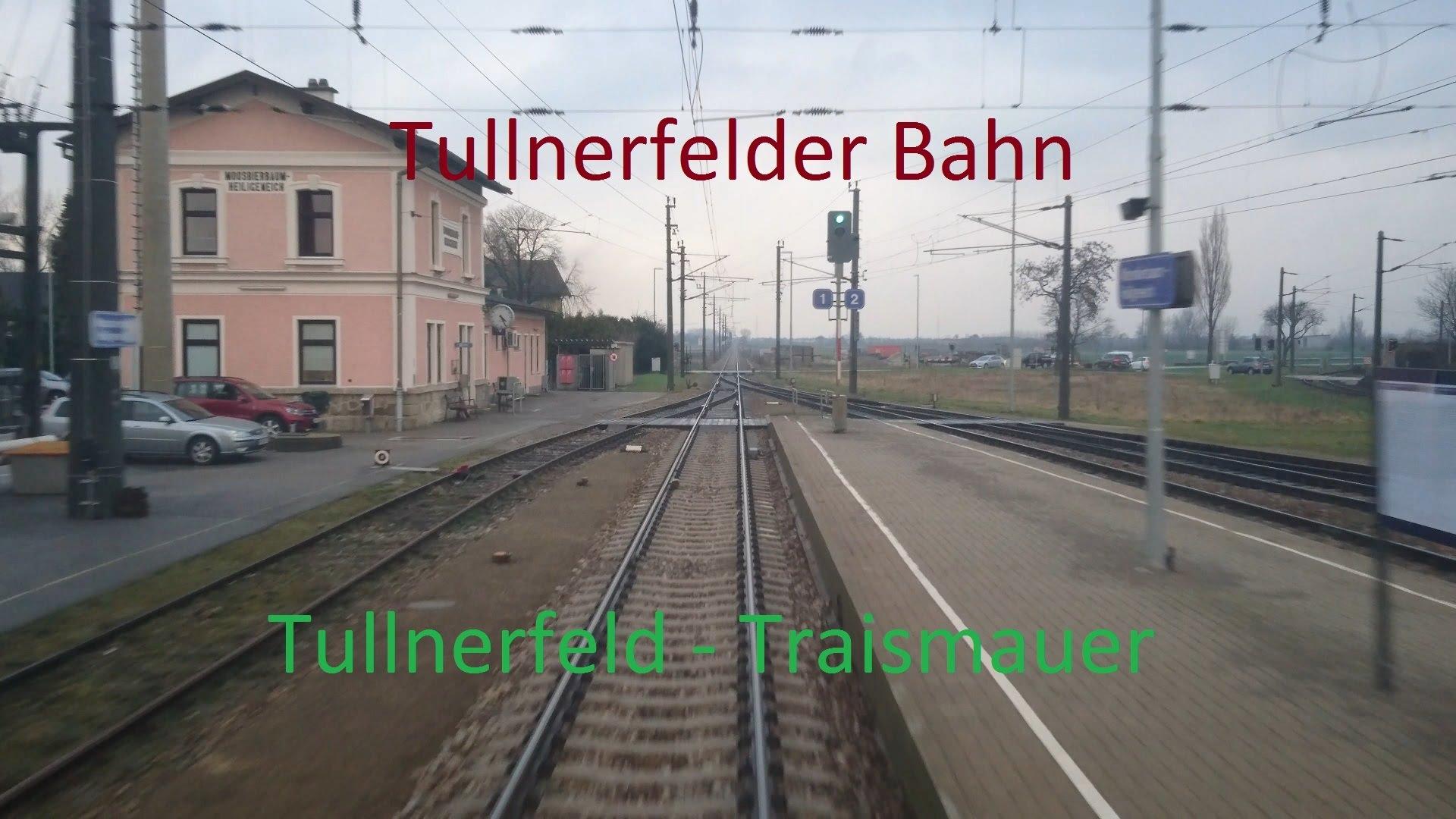 Führerstandsmitfahrt | Cab Ride | Tullnerfeld – Traismauer | Austria [4K]