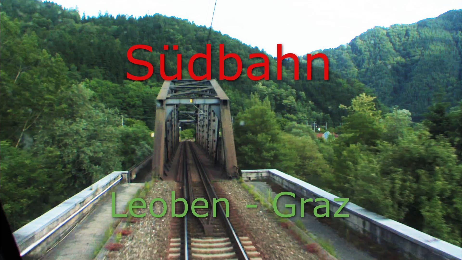 Führerstandsmitfahrt Südbahn Leoben – Graz | Cab Ride on Austrian Train