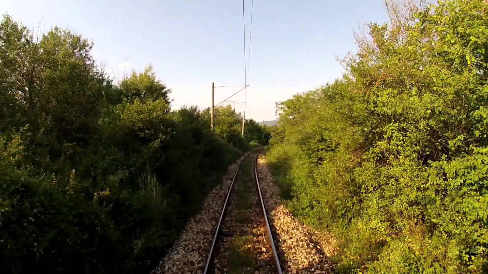 Driver's view Stara Zagora – Zmeyovo – Dabovo