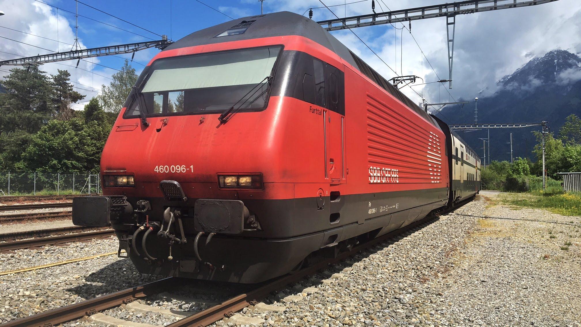 Führerstandsmitfahrt Interlaken Ost – Spiez