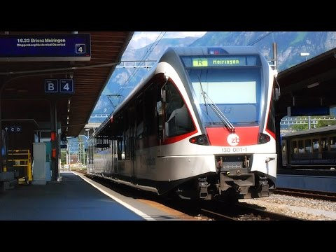 "Cab View Train ""Geneva – Brig"" (Switzerland)"