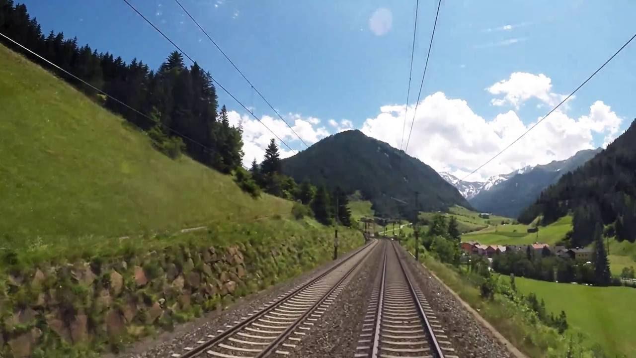 Führerstandsmitfahrt Innsbruck – Brennero/Brenner (ÖBB)
