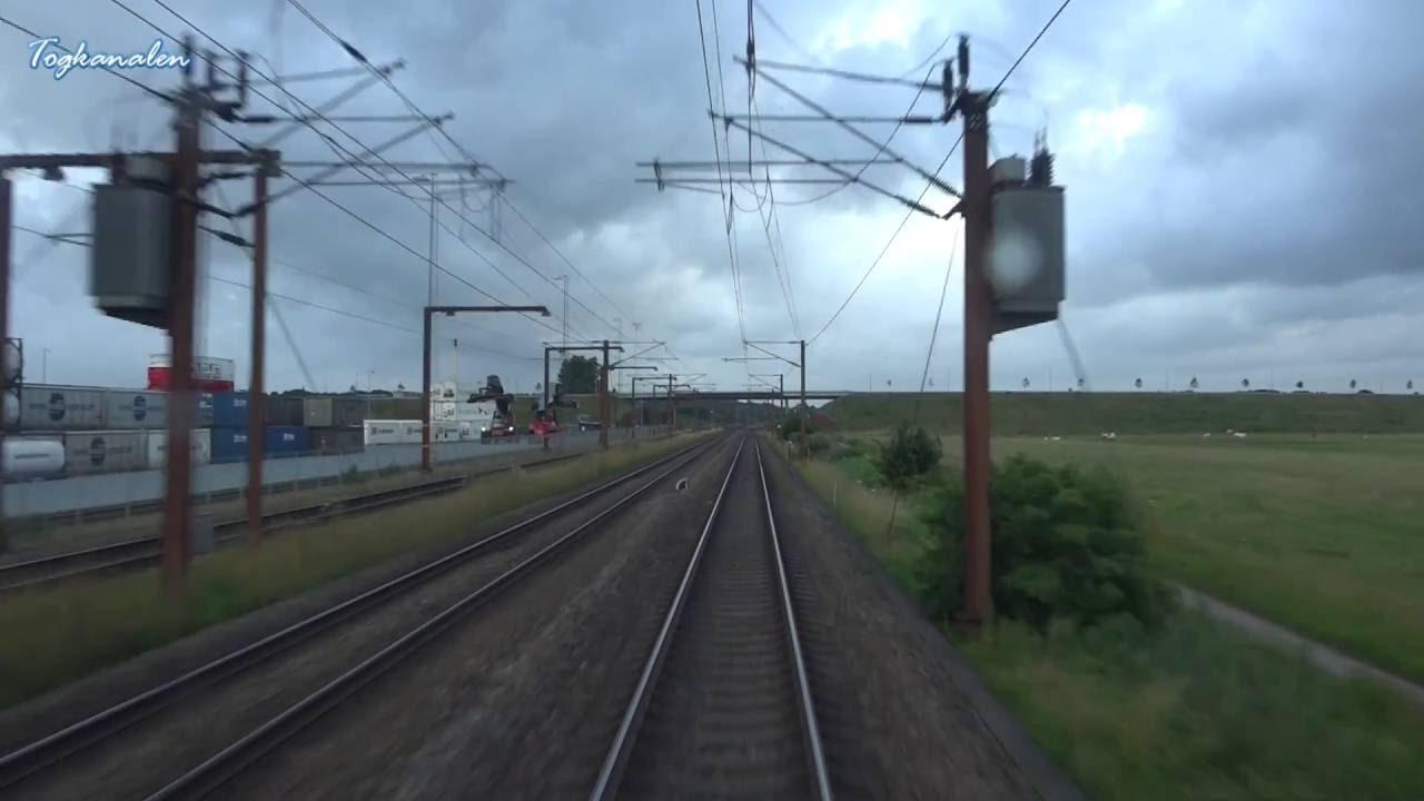Führerstandsmitfahrt Dänemark: Fredericia – Tinglev mit IC969