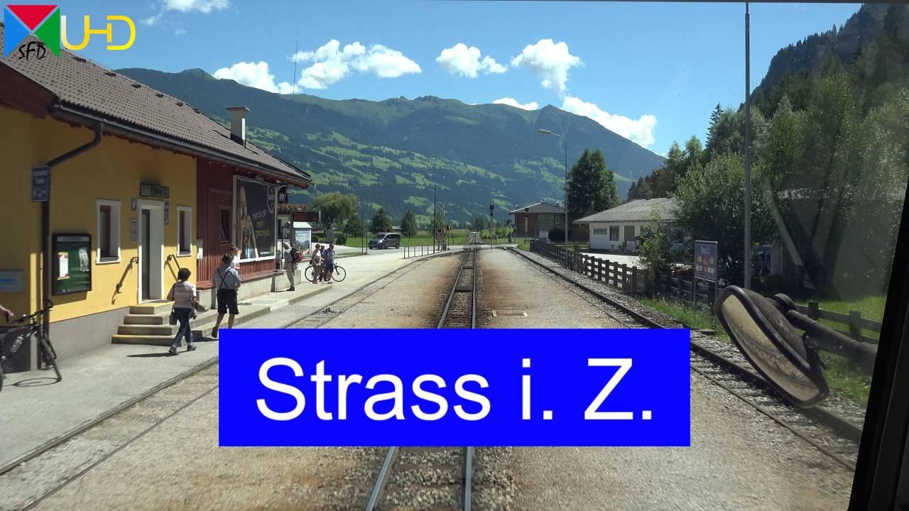Führerstandsmitfahrt auf der Zillertalbahn von Jenbach nach Mayrhofen | Cabride [4K UHD]