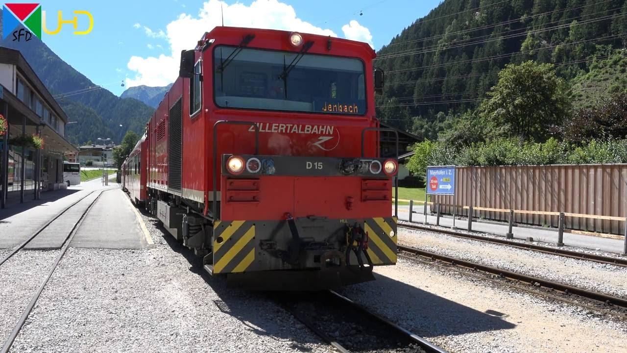 Führerstandsmitfahrt auf der Zillertalbahn von Mayrhofen nach Jenbach | Cabride [4K UHD]