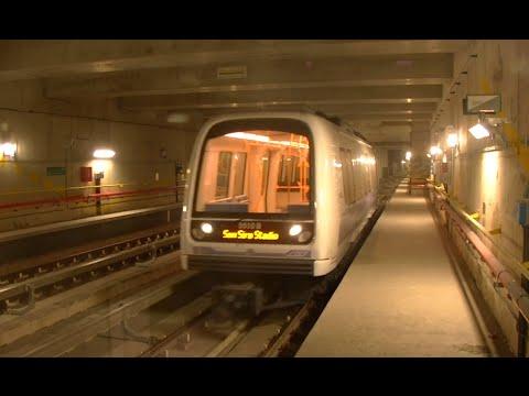 MILAN METRO LINE M5 San Siro Stadio → Bignami