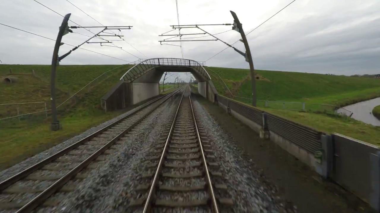 Cabinerit, Führerstandmitfahrt: Kijfhoek – Emmerich (Betuweroute) 4K UHD