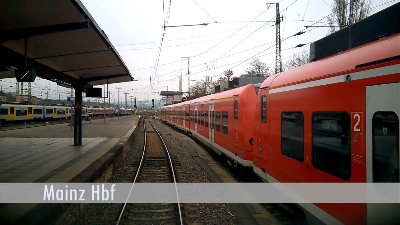 FÜHRERSTANDSMITFAHRT: Mainz Hbf – Bingen Stadt