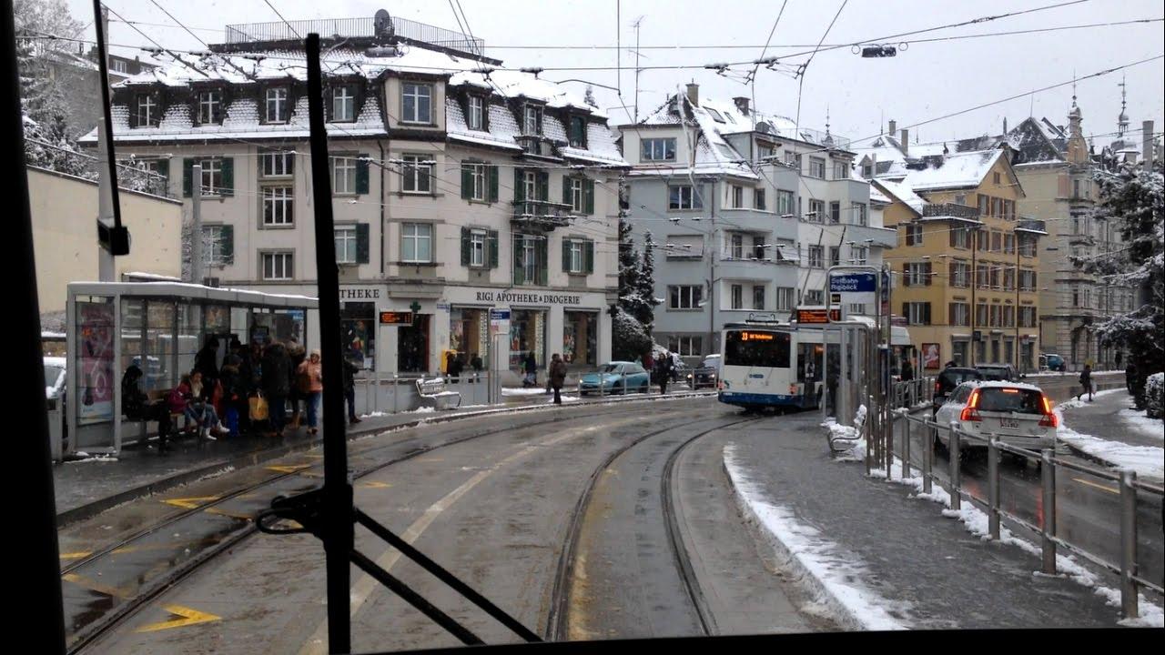 VBZ Zürich Tram | Linie 9: Hirzenbach – Heuried