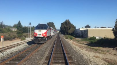 Caltrain HD 60 FPS: Gallery Car 4022 Cab Ride on Baby Bullet Train 329 (Tamien – San Francisco)