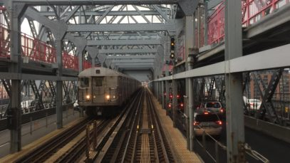 NYC Subway HD 60 FPS: Budd R32 Z Skip-Stop Train Thunderstorm Railfan Window RFW Ride (7/25/16)