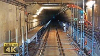 [4K] Cabview Budapest Metro line 4 – Kelenföld – Keleti and Keleti – Kelenföld