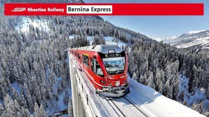 Bernina Express Führerstand [Tirano → St. Moritz] Bernina Express CabRide 2012 1080p BluRay