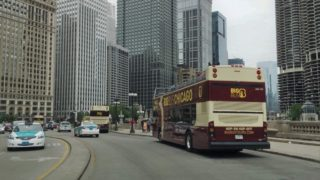 Driving Downtown – Chicago Illinois USA