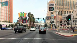 Driving Downtown – Las Vegas USA 4K
