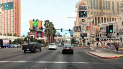 Driving Downtown – Las Vegas USA 4K