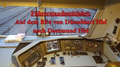 Führerstandsmitfahrt auf dem RE4 ( 3/4 ) ( Düsseldorf – Dortmund )