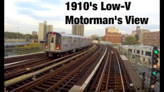 ⁴ᴷ Motorman's Point of View – 1910s Low-V around City Hall Loop to Woodlawn