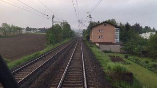 Führerstandsmitfahrt BR 182 von Bruchsal nach Stuttgart