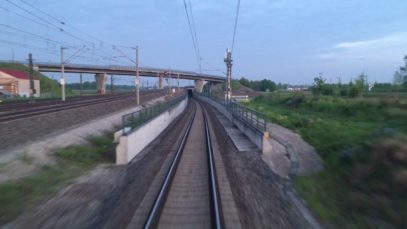 Führerstandsmitfahrt BR 182 von München nach Donauwörth
