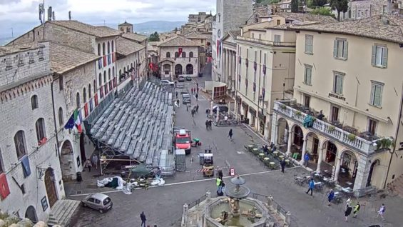 Assisi Live Streaming Webcam 24/7