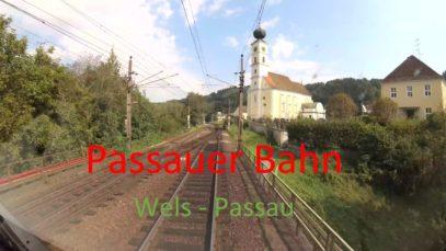 Führerstandsmitfahrt | Cab Ride | Passauer Bahn | Wels – Passau | Vectron [4k]