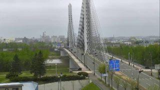 十勝大橋ライブカメラ Live Camera in Tokachi Big Bridge over the Tokachi river, Hokkaido in Japan