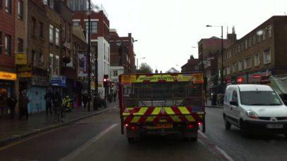 London Streets (600.) – Bethnal Green – Poplar – Blackwall Tunnel – Blackheat – Kidbrooke