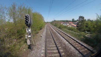 Voyage en cabine: De Clermont-Ferrand à Saincaize