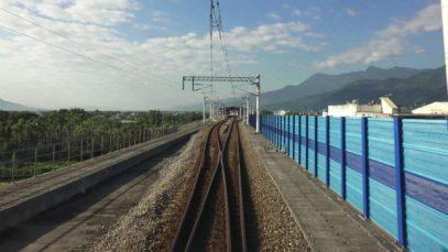 4K 台鐵 402次TEMU1000太魯閣號 花蓮-台東 路程景 Hualieni – Taitung
