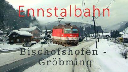 Führerstandsmitfahrt Bischofshofen – Selzthal Teil 1/2 – Cab Ride – ÖBB 1144