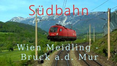 Führerstandsmitfahrt Südbahn Wien Meidling – Bruck a. d. Mur – Cab Ride [HD] – ÖBB 1116