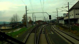 Pyhrnbahn – Führerstandsmitfahrt von Liezen – Selzthal nach Linz Hbf.