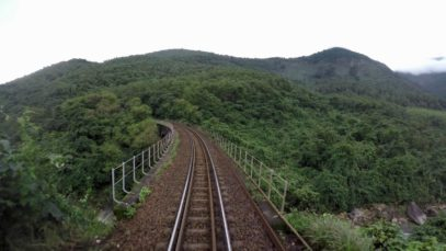 Train Driver record SE3 From Hue to Da Nang (2016)