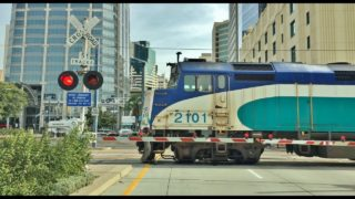 Driving Downtown – San Diego California USA 4K