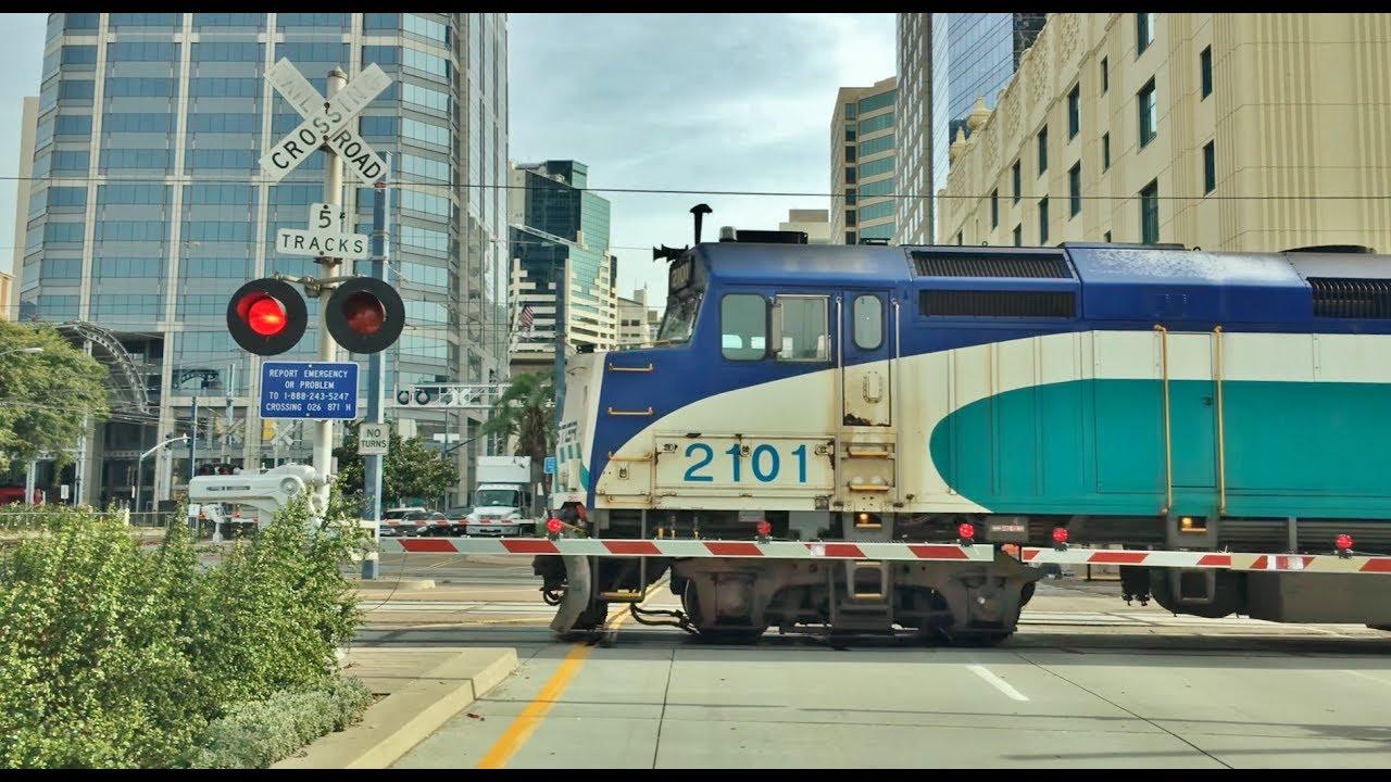 Driving Downtown – San Diego California USA 4K
