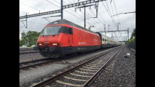 Führerstandsmitfahrt SBB InterCity Bern – Spiez