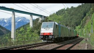 4k Führerstandsmitfahrt Brenner – Innsbruck mit BR 186