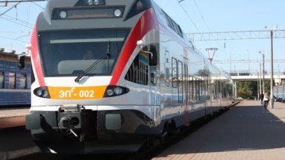 "Cab View Train ""Minsk – Brest"" (Belarus)"