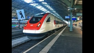Führerstandsmitfahrt SBB ICN St. Gallen – Zürich