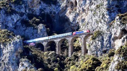 Rails Through Heaven – Part [2]: Bralos – Asopos – Trachina [ driver's eye view ]