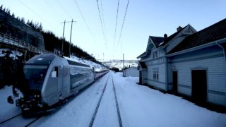 Train Drivers View: Back over the mountain (Ål – Voss)