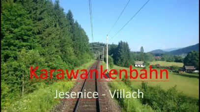 Führerstandsmitfahrt | Cab Ride | Karawankenbahn | Jesenice – Villach | BR 110 [HD]