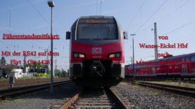4K | Führerstandsmitfahrt auf der RE42 von Mönchengladbach Hbf bis Münster (Westf) Hbf [Teil 2]