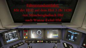 4K | Führerstandsmitfahrt auf der RE42 von Mönchengladbach Hbf bis Münster (Westf) Hbf [Teil 1]