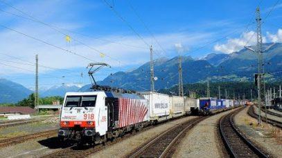 4k Führerstandsmitfahrt Tauernbahn Schwarzach-St.Veit – Spittal-Millstättersee
