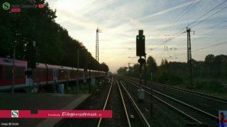 """Führerstandsmitfahrt BR472 S-Bahn Hamburg """"S21"""" Elbgaustrasse-Aumühle [inkl. SV0 Fahren auf Sicht]"""