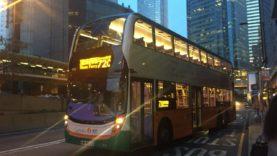 Hong Kong Bus NWFB 6103 @ 720 新世界第一巴士 Dennis Enviro 500 筲箕灣-砵典乍街