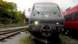 Train Driver's View: Oslo – Ål (with engine and carriage pickup)