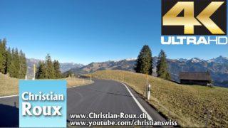 1-2X UHD – Switzerland 304 (Camera on board): Col du Jaun depuis Bulle (Hero4)